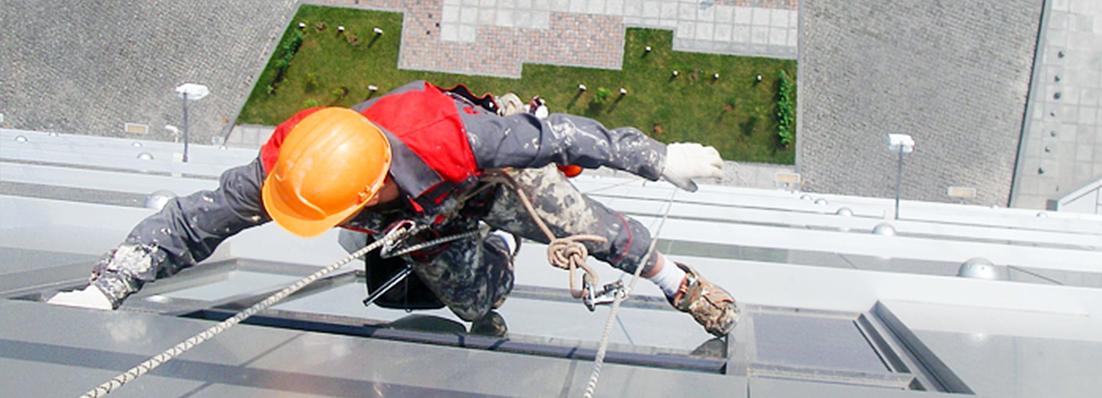 Какие фасадные работы могут проводить альпинисты?