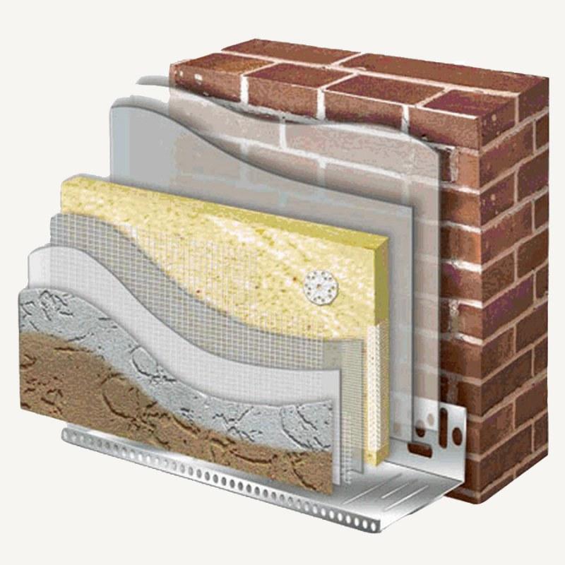 Как выбрать оптимальную теплоизоляцию кирпичной стены