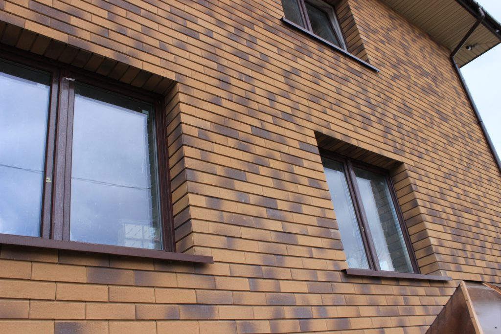 Вентилируемый фасад панельного дома
