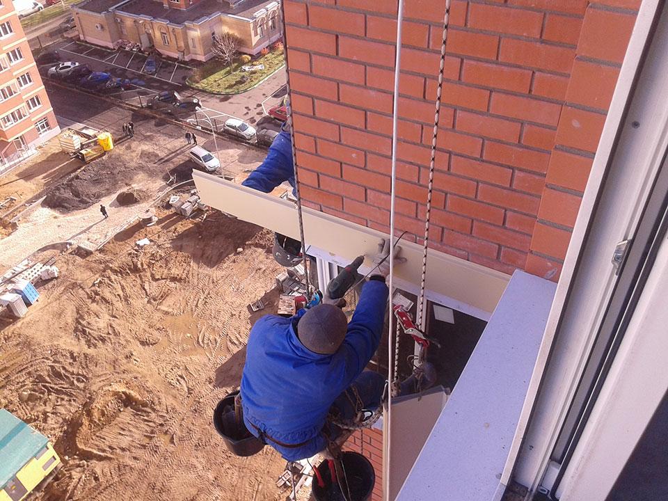 Отделка монолитных поясов и торцов бетонных перекрытий2
