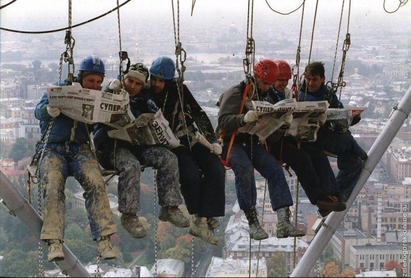 Как влияют погодные условия на работу промышленных альпинистов