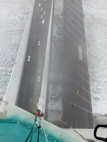 ремонт вантового моста