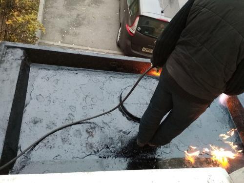 Гидроизоляция козырьков в Сестрорецке