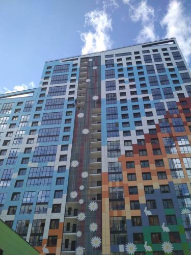 Монтаж защитных конструкций на балконах Крыленко 1