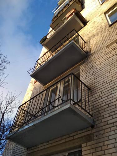 Ремонт балконов, Голикова 4