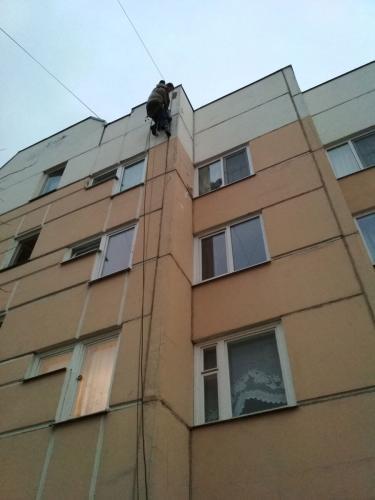 Ремонт фасада, Сестрорецк