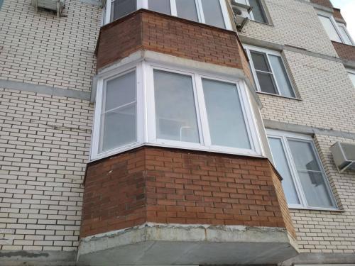 восстановление кирпичной кладки балконов