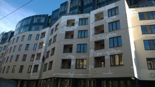 Ремонт фасада, 10 Советская 4-6